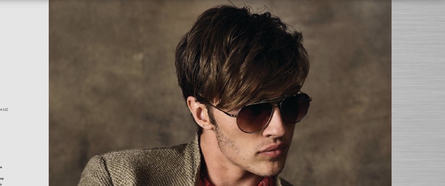 John Varvatos Aviator Sunglasses