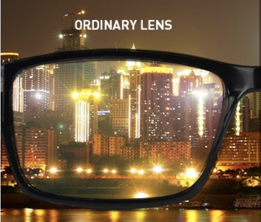 Lenses With Glare Are Cloudy