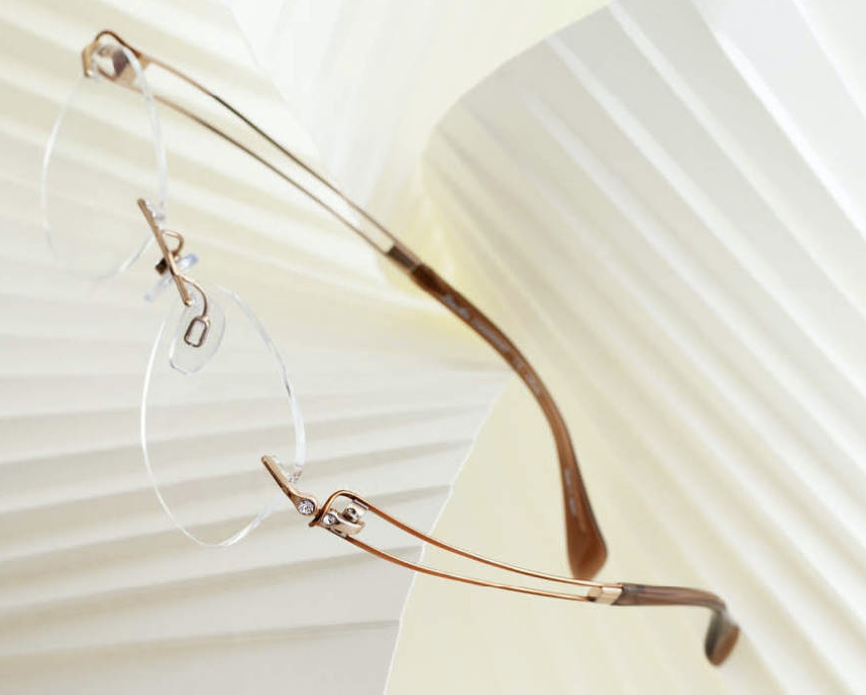 Line Art Rimless Glasses