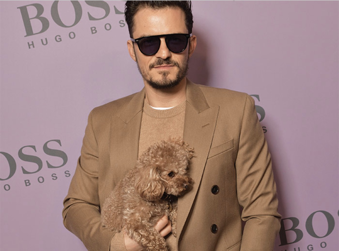 Orlando Bloom in BOSS Sunglasses