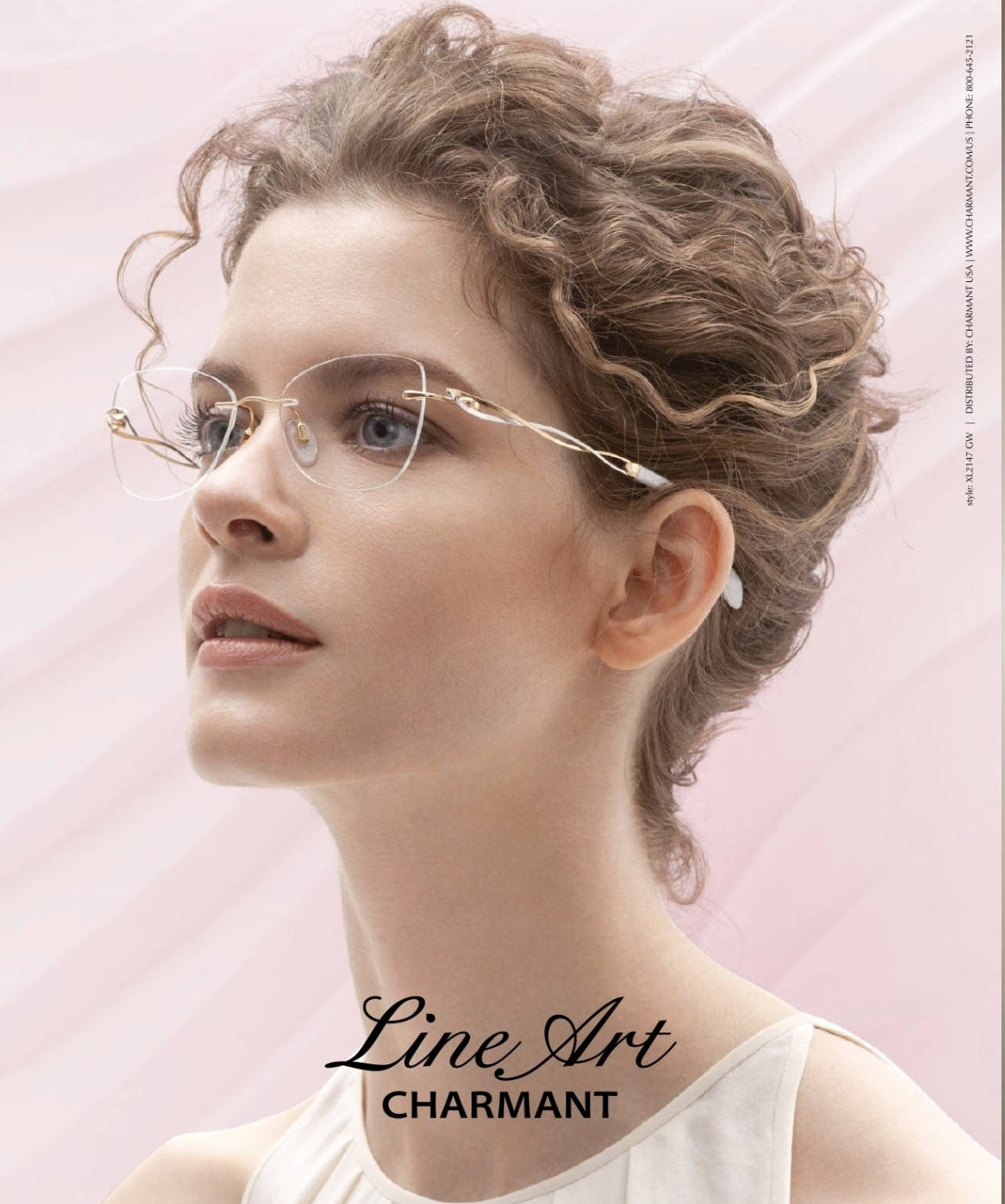 Rimless Glasses by Line Art