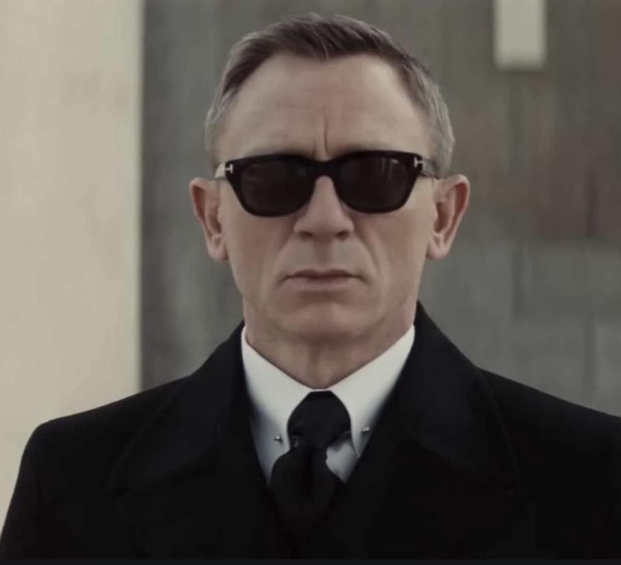 The Snowdon sunglasses were a favorite of James Bond in