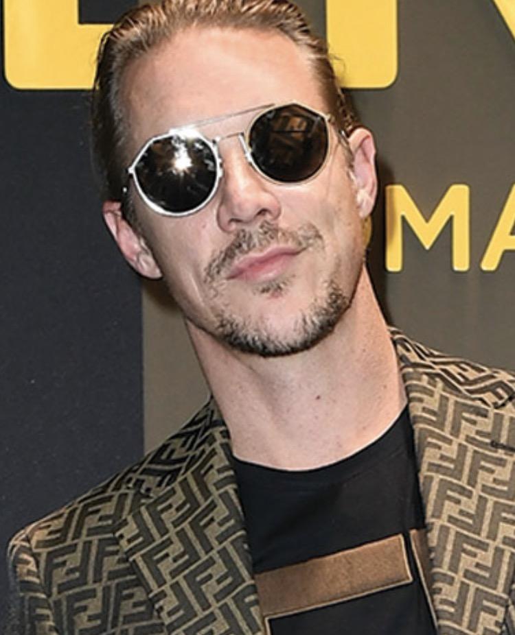 DJ Diplo Chilling In Fendo 0021 Sunglasses