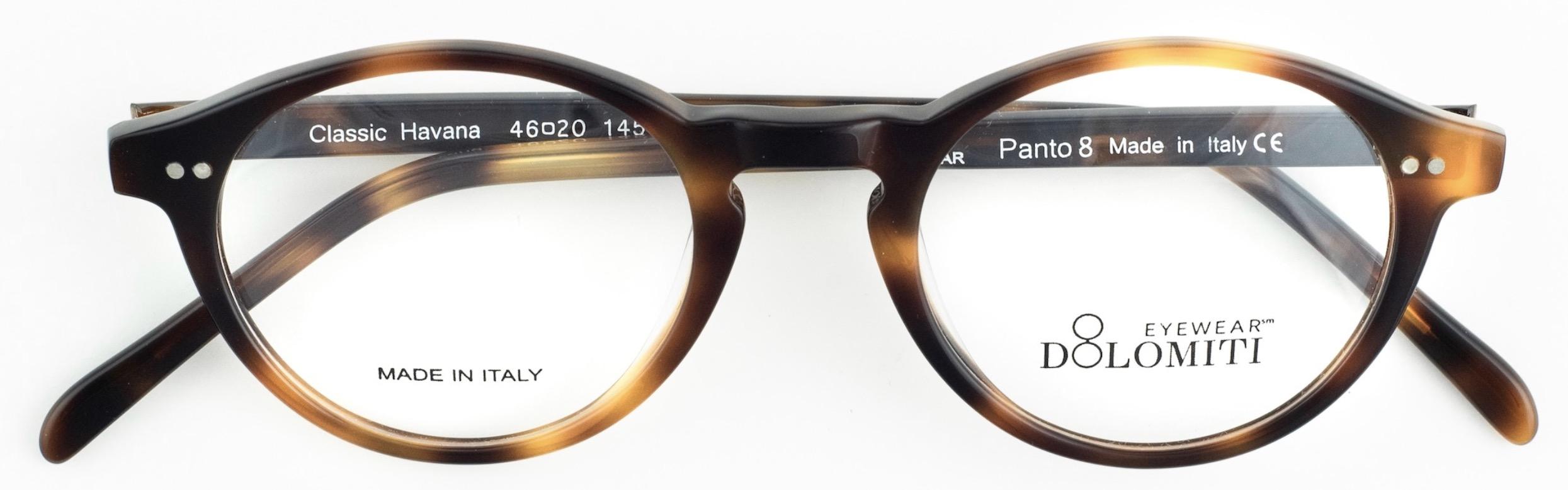 Men's Panto Oval Glasses