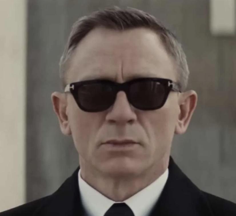 Tom Ford Snowdon sunglasses, worn by James Bond