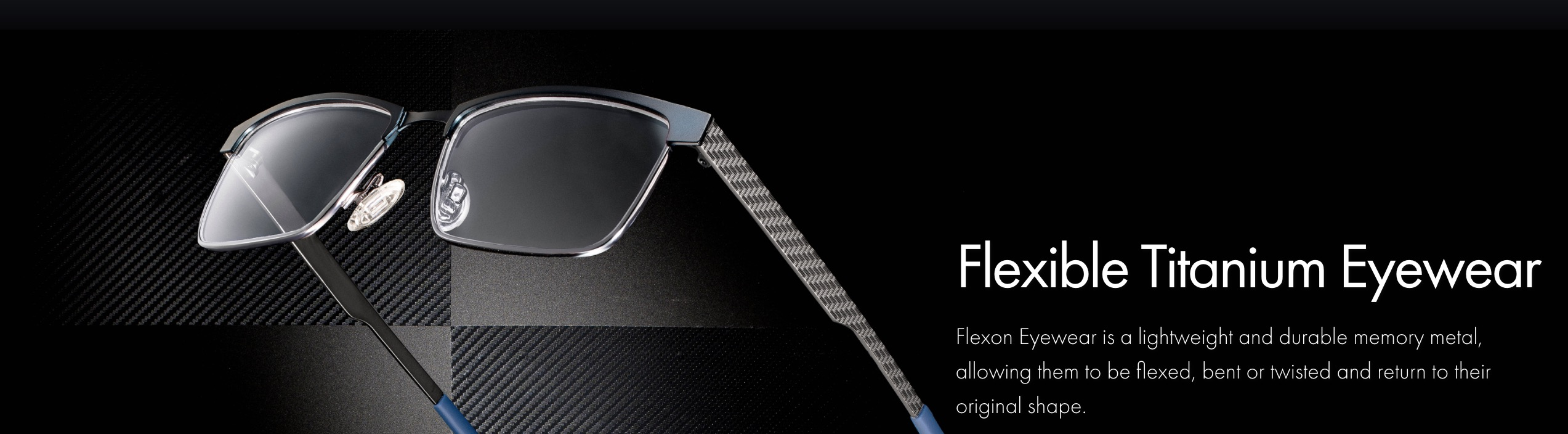 Titanium Glasses by Flexon