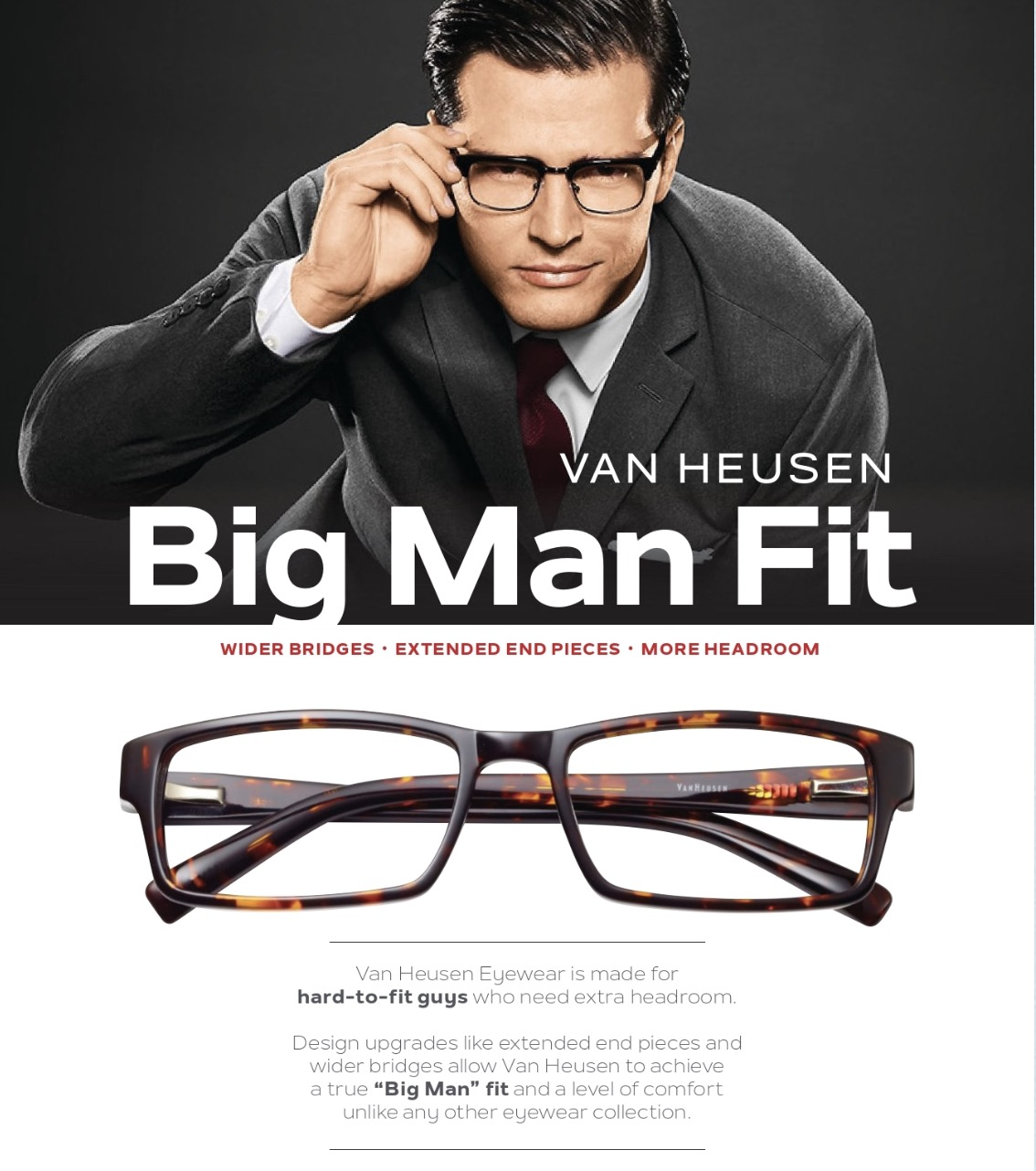 Van Heusen Big Glasses