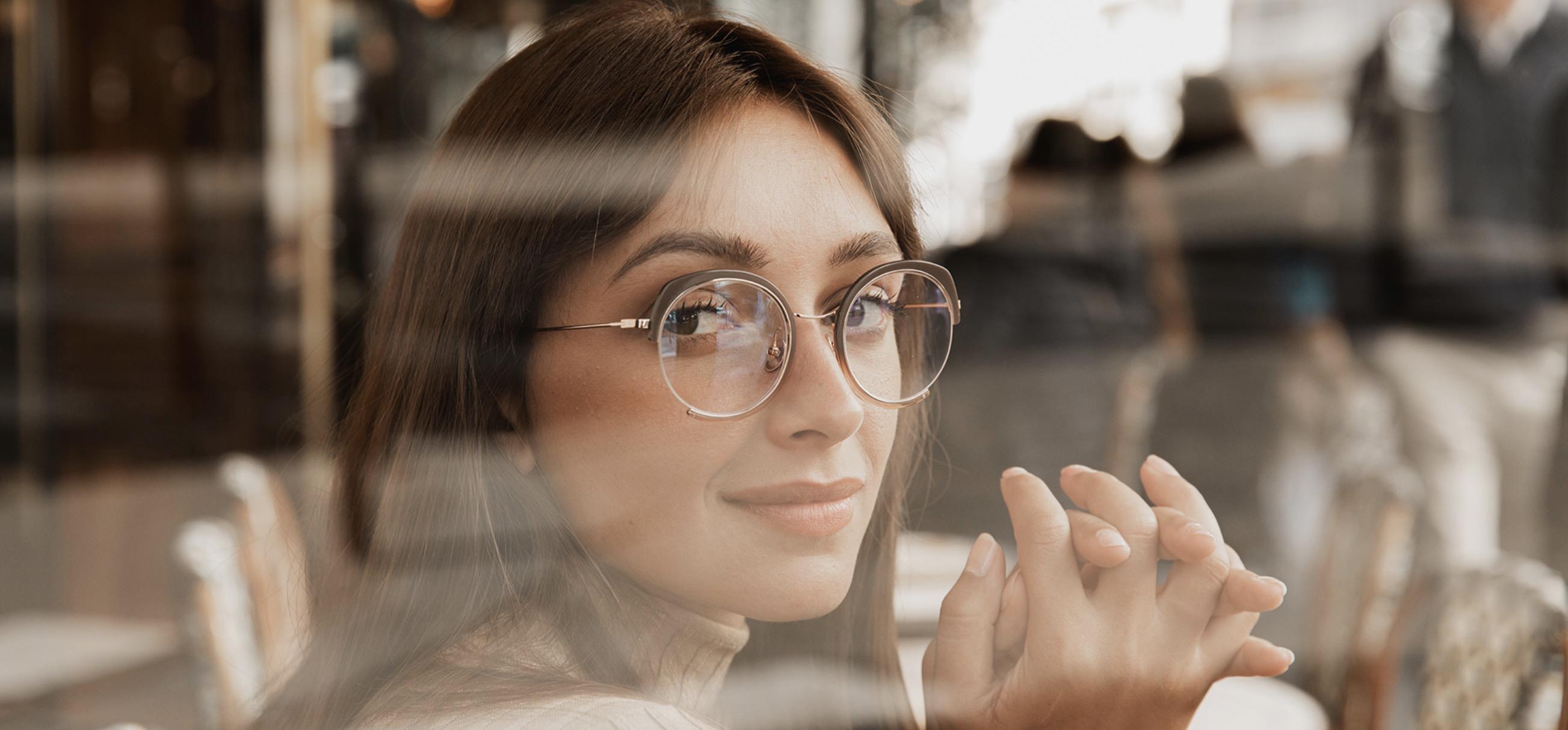 Women's Round Glasses