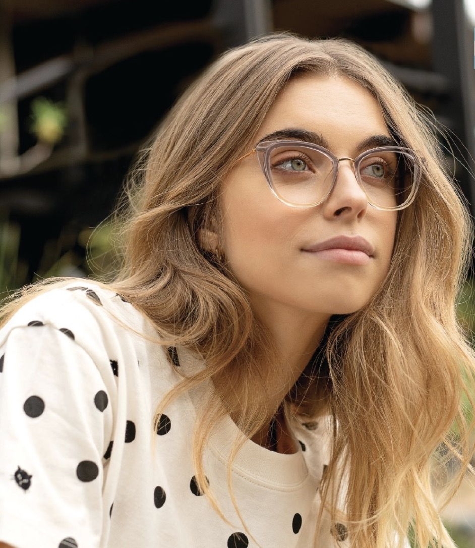 Womens Cat Eye Glasses