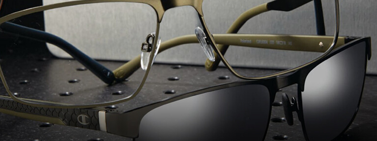 Women's titanium Glasses